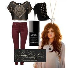 Aria Outfit from Polyvore