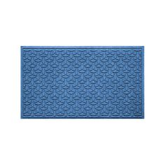 WaterGuard Elipse Indoor Outdoor Mat, Blue