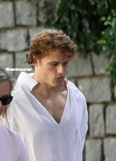 A new to me pic of Sam in Prague. Found on Pinterest source is on the photo.