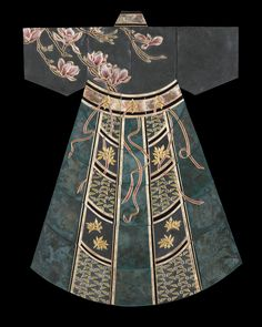 Springs Glory in Extra Large by Marcia Jestaedt (Giclee Print) Japanese Kimono, Japanese Art, Japanese Design, Japanese Style, Gold Acrylic Paint, Ceramic Workshop, Kimono Design, Art Japonais, Ceramic Artists