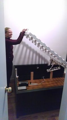 Lofted / Raised MALM Storage Bed converts to 18″ of Storage! - IKEA Hackers