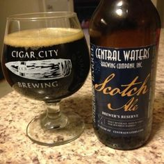 Bourbon Barrel Scotch Ale (2013) by Central Waters Brewing Company