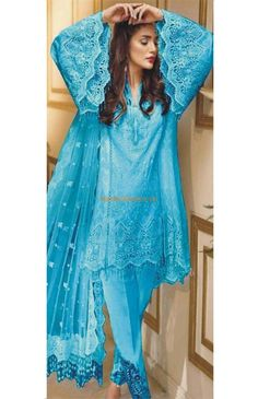 Designer Light Party Wear And Formal Wear at Retail and whole sale prices at Pakistan's Biggest Replica Online Store New Pakistani Dresses, Pakistani Dress Design, Pakistani Street Style, Pakistani Designers, Chiffon Shirt, Dress Designs, My Outfit, 3 Piece, Designer Dresses
