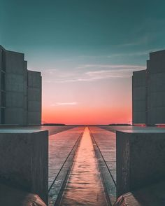 We stopped by the Salk Institute  earlier this week