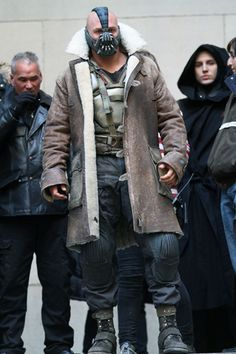 Bane Coat - The Dark Knight's style rises! - GQ.COM (UK)
