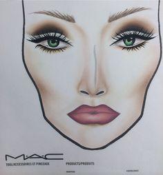 Cut crease face chart