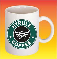 Hyrule Coffee the legends of zelda customize ceramic mug