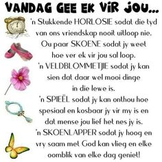 Best Birthday Wishes Quotes, Birthday Verses, Birthday Qoutes, Happy Birthday, Morning Greetings Quotes, Good Morning Quotes, Good Morning Daughter, Daughter Quotes Funny, Afrikaanse Quotes