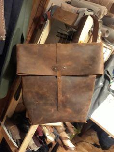 Leather backpack.  Custom order  Www.etsy.com/shop/ZazooHandCrafts Leather Craft, Leather Backpack, Backpacks, Crafts, Bags, Etsy, Shopping, Handbags, Leather Crafts