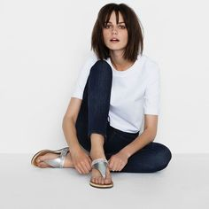 fffbb5c3f3b2e5 Fitflop Banda™ Micro-Crystal Toe-Post Pale Gold  SS15  sandals