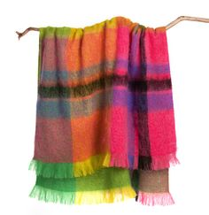 NEW 100% mohair throws from Gorman, all made in Melbourne in collaboration with local manufacturerSt Albans.