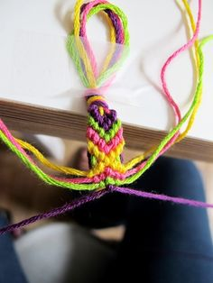 DIY: friendship bracelets? Made these up camping this past summer, really fun and easy, nd only takes a while to make. This tutorial is really easy to follow too, it's pretty simple. I'll be grateful I pinned this later, when I forget how! :)