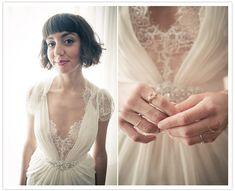 Breathtaking and runway-worthy Jenny Packham dresses on real brides! Wedding Pics, Wedding Bells, Our Wedding, Wedding Things, Wedding Attire, Wedding Gowns, Lace Wedding, Free People Wedding, Jenny Packham Dresses