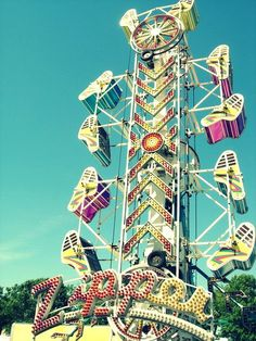 Carnival or State Fair Rides