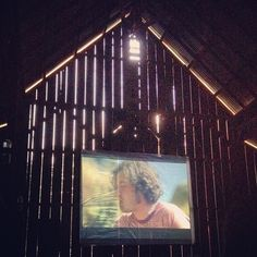 barn movies OUTDOOR MOVIES!! yes please..