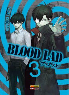Blood Lad #3:Decidido a ajudar Fuyumi, Staz foi até a área mais restrita de Makai, onde somente os demônios de sangue puro podem pisar, para encontrar o autor do livro da ressurreição. Enquanto isso, Fuyumi, Wolf, Mame e Bell recorrem ao Frank... Mas parece que ele já tem muito com o que se preocupar!