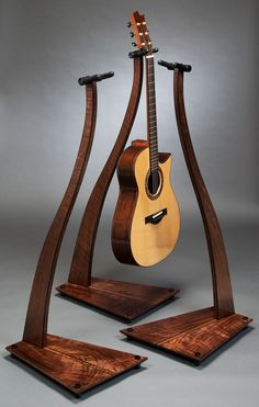 hanging guitar stand gifts wooden guitar stand wood guitar stand diy guitar stand. Black Bedroom Furniture Sets. Home Design Ideas