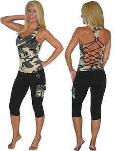 Equilibrium Activewear Crissie Set C325 Women Activewear   NelaSportswear   Women's fitness activewear workout clothes exercise clothing