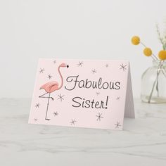 birthday card created by QuirkyChic. Personalize it with photos & text or purchase as is! 30th Birthday Cards, Birthday Cards For Friends, Best Friend Birthday, Sister Birthday, Diy Birthday, Birthday Wishes, Happy Birthday, Birthday Cake, Birthday Gifts For Bestfriends