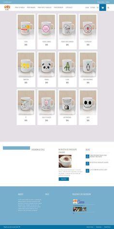 Kuki se dedica a vender tazas personalizadas para un bonito regalo
