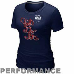 free shipping fad8a 424da Nike USA Ladies Script Dri-FIT T-Shirt Usa Olympics, Winter Olympics,