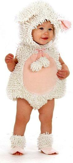 Little Lamb Costume - 12-18 Months