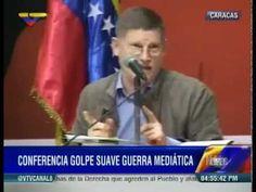Michel Collon en Venezuela. Golpe suave, guerra mediática. EEUU, injere...
