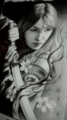 geisha by AndreySkull