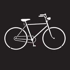 Stencil - Bicycle