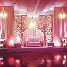 Floral stage design