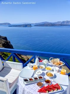 Astarte Suites in Santorini #breakfast
