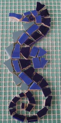 mosaic seahorse | Mosaic Seahorse=looks easy for novice like me