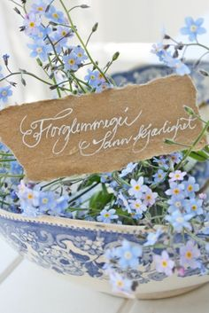 VIBEKE DESIGN: A summer journey in blue and white!