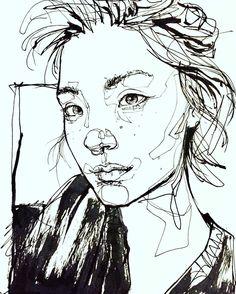 "4,392 Me gusta, 23 comentarios - Dominic Beyeler (@beyelerdominic) en Instagram: ""Thank you @beaforpresident #Portraitsketch #Sketch #Sketchbook #Draw #Drawing #Portraitdrawing…"""