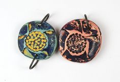 Rustic Beads and Components, make antiqued or distressed beads, charms, headpins, and connectors with polymer clay.