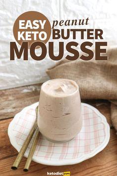 Easy Keto Peanut Butter Mousse