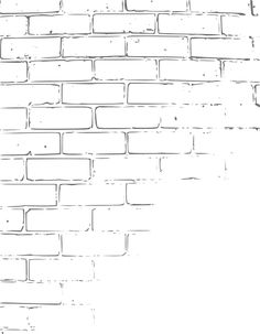 Brick Wall Drawing  #Brick Pinned by www.modlar.com