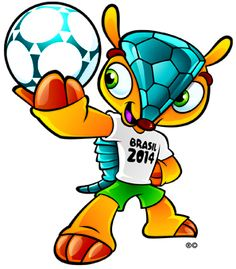 The potential names for the Official Armadillo of World Cup 2014 have been announced Jan 2013. Unless you speak Portuguese, you'll be voting on which one is the most fun to say – clearly it's Amujibi. And so it shall be. Though Brazilians seem rather unhappy with their pu pu platter of potential monikers. FIFA says the three names – Amujibi, Fuleco and Zuzeco – come from a mix of Brazilian words that represent friendliness, joy and ecology.
