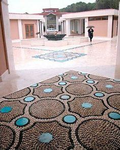 Artistic Pebble mozaik & seramic. By Mehmet ışıklı Antalya Türkiye 2006
