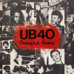 UB40 - Present Arms / Don't Slow Down - album cover