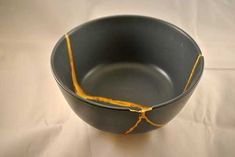 """Defined as """"to repair with gold"""", kintsukuroi/kintsugi is a Japanese technique used to fix broken pottery with golden lacquer. The definition goes deeper; the belief of kintsukuroi is that the piece is more beautiful for being broken. This is a great metaphor for our lives. In the Bible, Job declares his belief that when his trials …"""