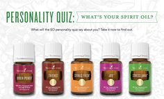 Just like people, every Young Living essential oil is different! Some are spicy; some are sweet. Some are bright and others mellow. But which one is the best match for you? Take our personality quiz to discover your essential oil soul mate—we think you're really going to like each other.     Which essential oil did you get? Do you agree ...