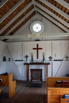Little Tiny Church In Round Top Texas Old Country
