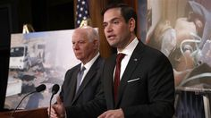 """Trump's Syria strategy 'based on assumptions': Sen. Rubio BlackHouse, Apr. 11 – US Senator Marco Rubio said he is concerned about the Trump administration's strategy on Syria which he criticized as being """"based on assumptions."""" """"I'm a bit concerned about the outlines of the strategy as I understand it. I think it's based on assumptions that,... https://bh-news.net/2p2Lklz"""