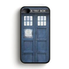 Tardis Doctor Who Bw iPhone 4|4S Case