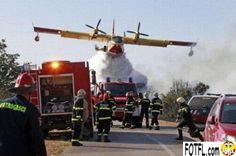Firefighters about to have a bad day