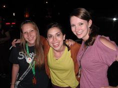 Mandy, Meredith Stepien, and I after the show! She is the most hilarious person ever!