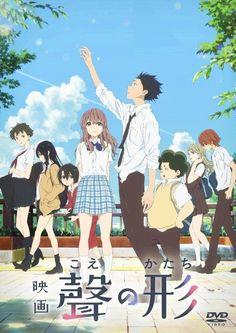 a Silent Voice KOE No Katachi DVD 4988013281097 Pcbe-55668 Japan