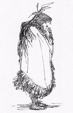 Pocahontas concept art
