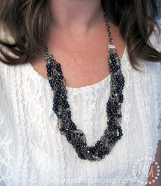 DIY Necklace  : DIY Eclectic Braided Necklace